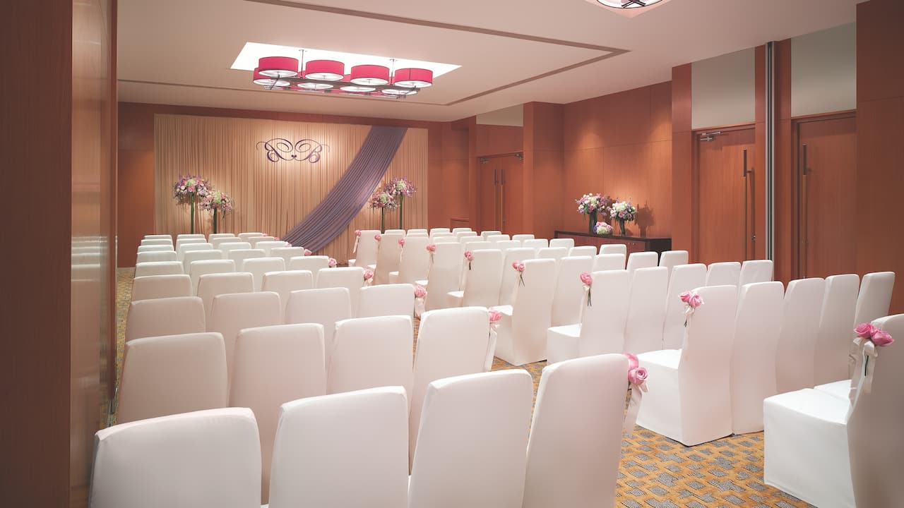 Salon II and III Wedding Ceremony