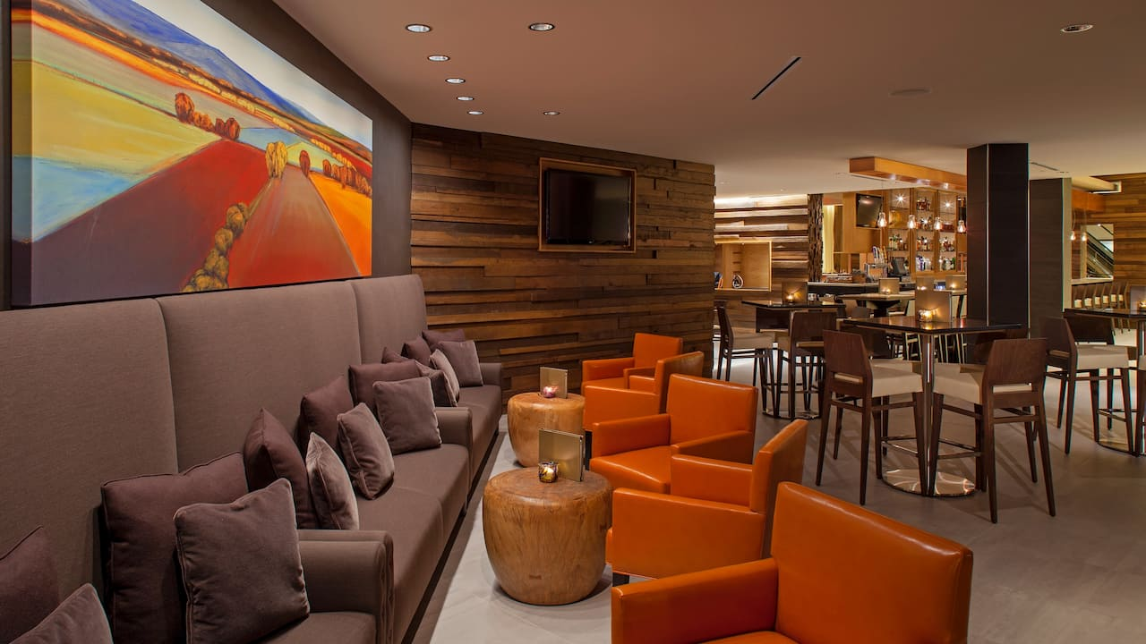 Lounge area of Sway Bar