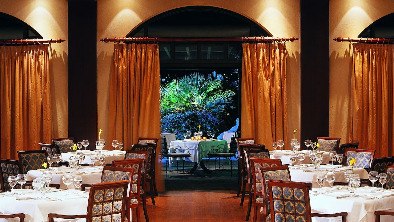 Ambrosia restaurant inside