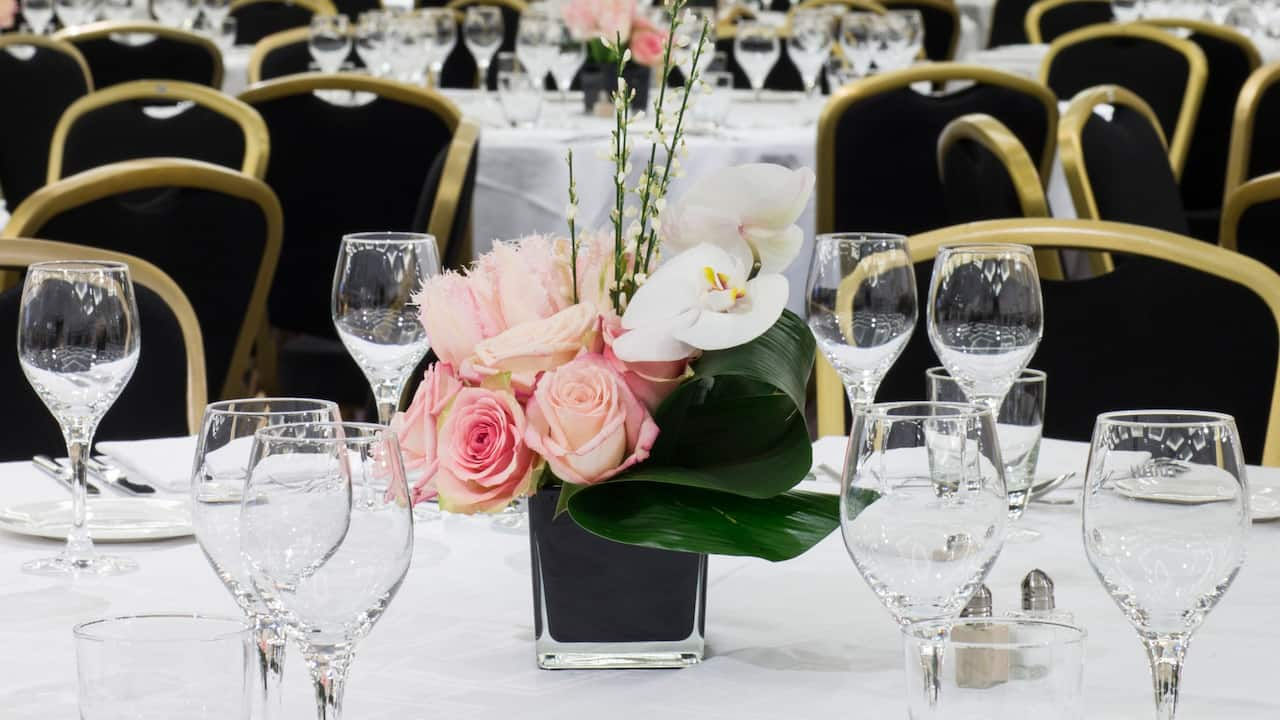 Wedding ballroom at Hotel Hyatt Regency Paris Étoile​