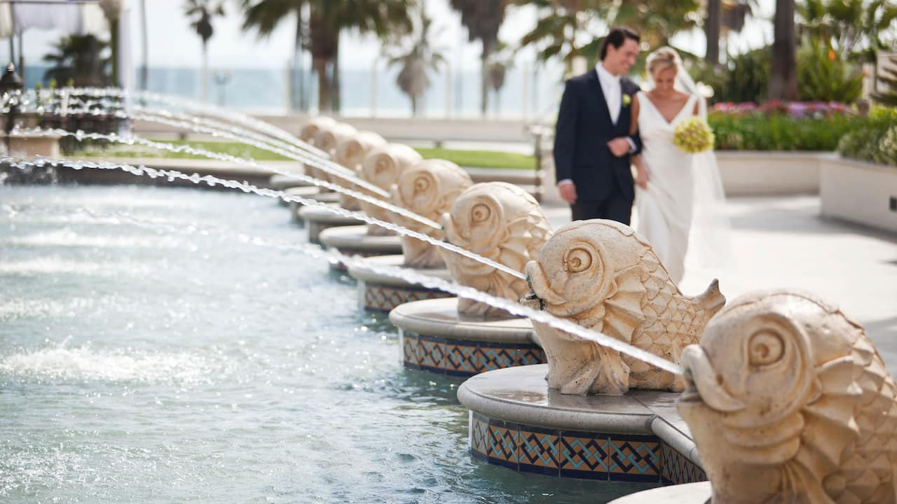 Wedding Water Feature