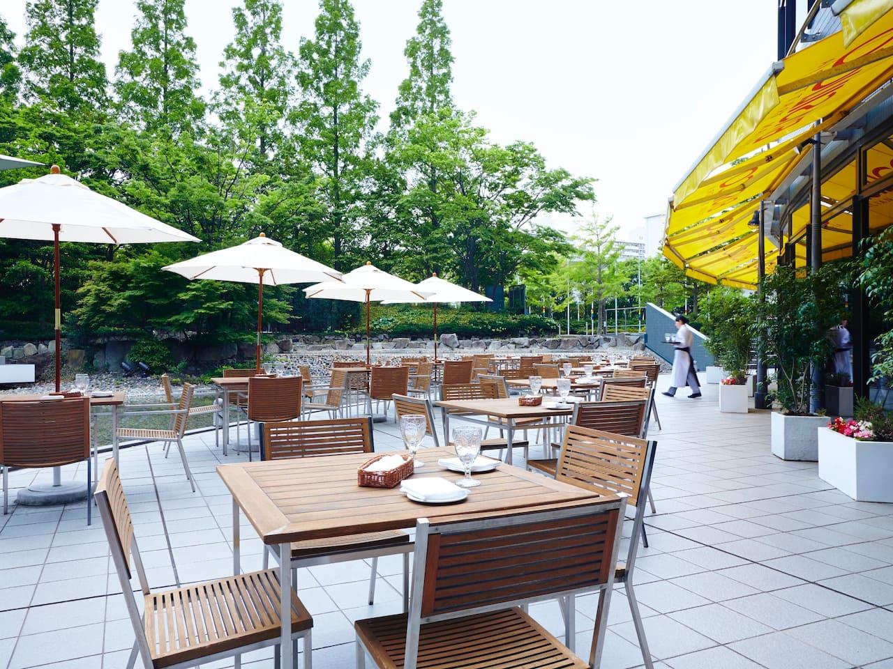 ハイアット リージェンシー 大阪 – Basilico Terrace