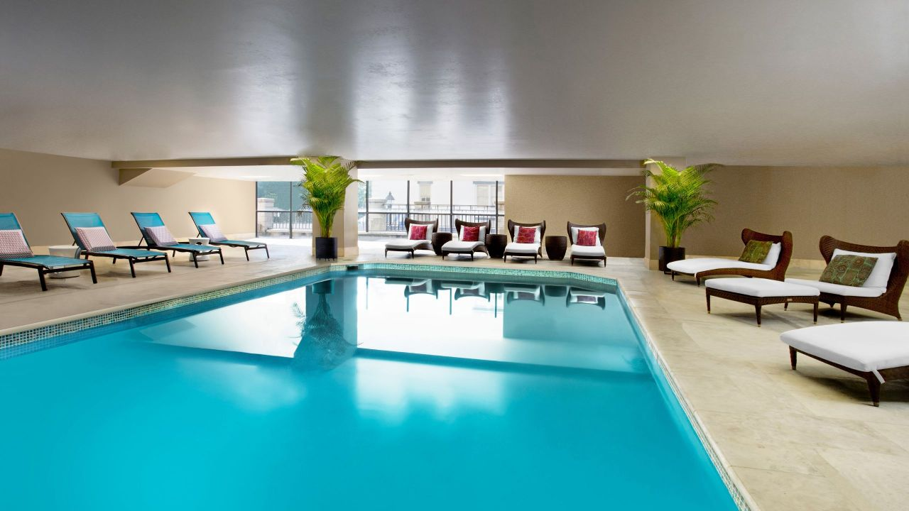 Indoor Pool at Hyatt Regency Savannah