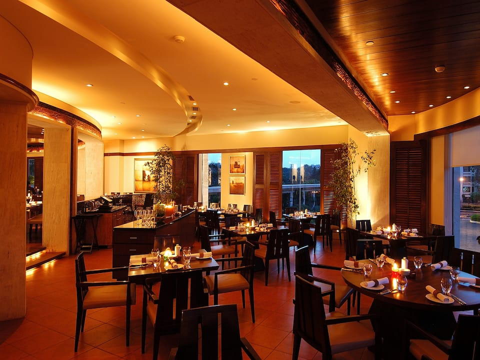 Interior View of La Cucina - Italian Restaurant in Kolkata