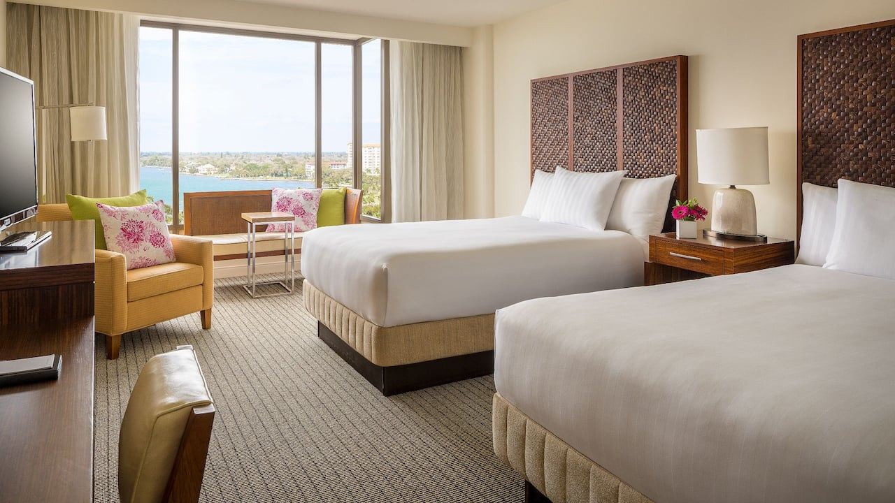 Hyatt Regency Sarasota Double Bed Guestroom