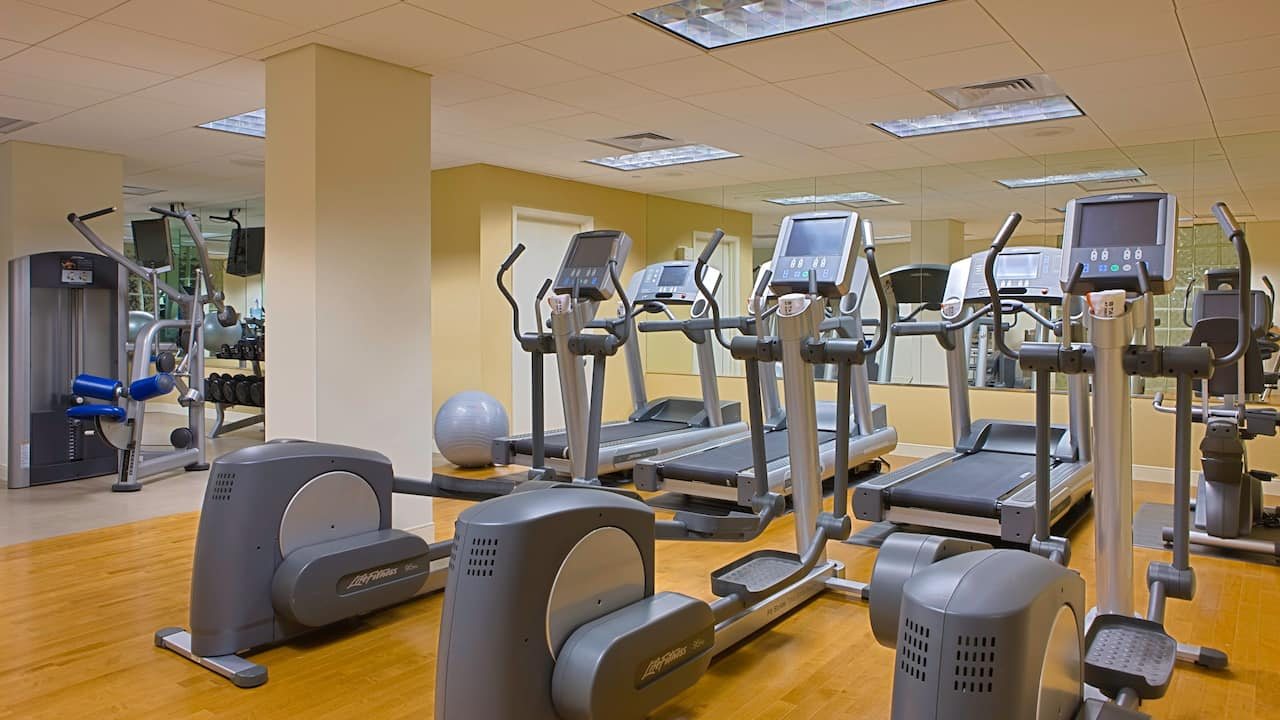Fitness Center at Hyatt Regency Sarasota