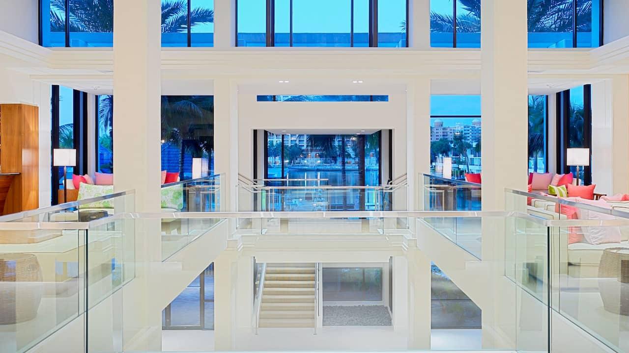 Hotel Lobby Hyatt Regency Sarasota