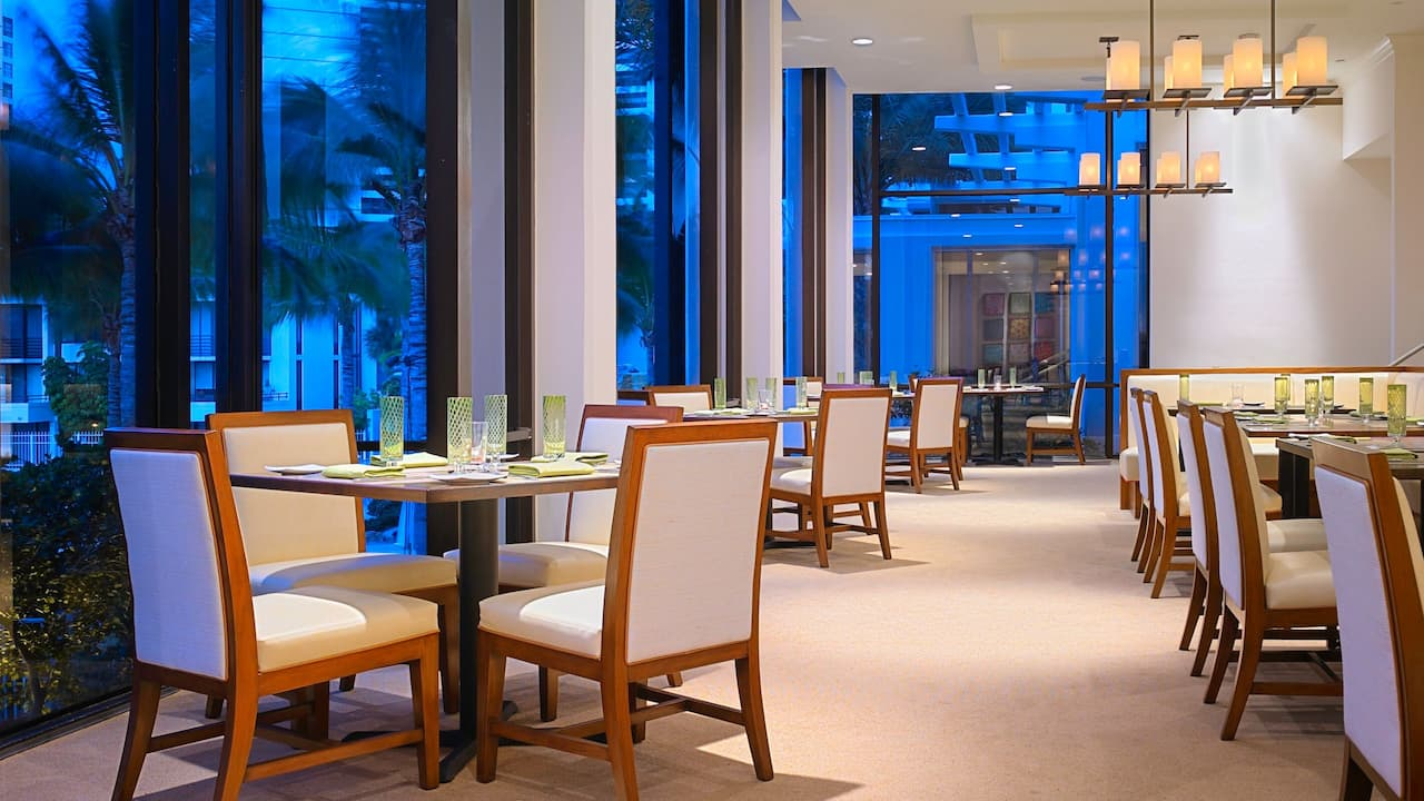 Hyatt Regency Sarasota Restaurant Dining