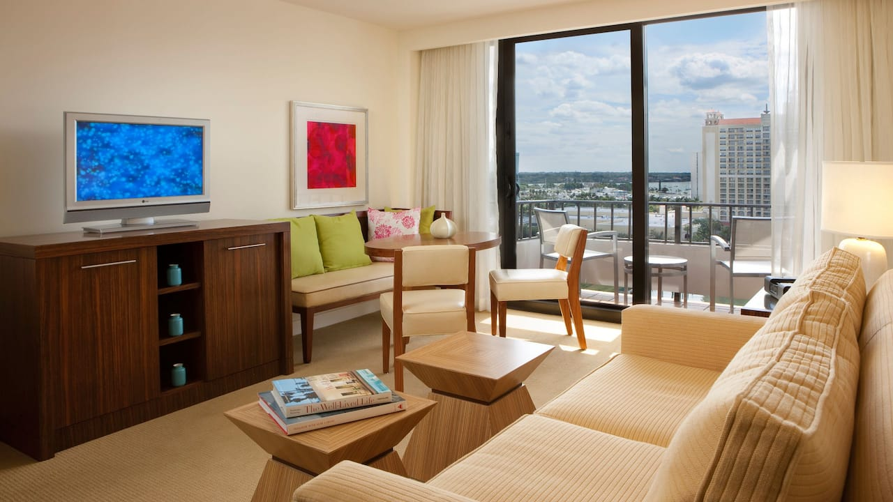Hyatt Regency Sarasota Suite with Balcony