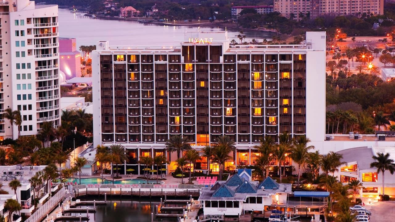 Hyatt Regency Sarasota Hotel Exterior