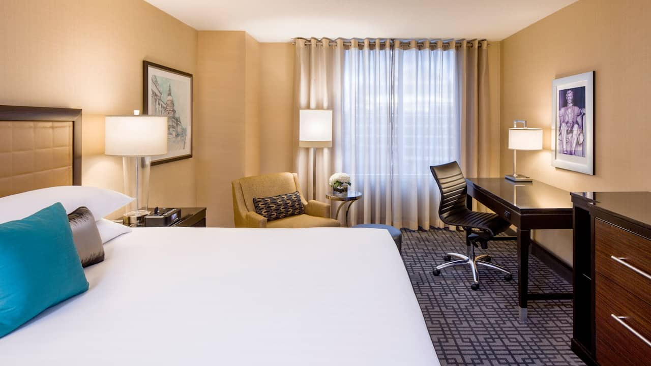 Guestroom Hyatt Regency Washington on Capitol Hill