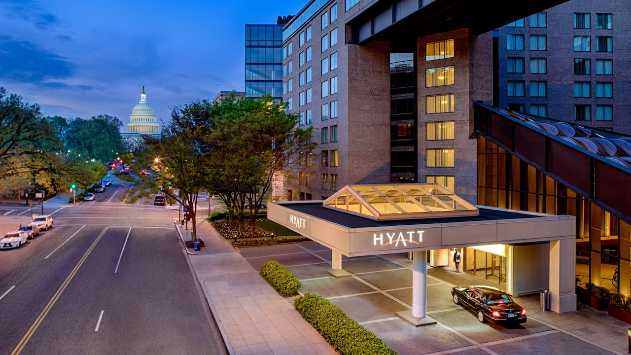 Exterior of Hyatt Regency Washington on Capitol Hill