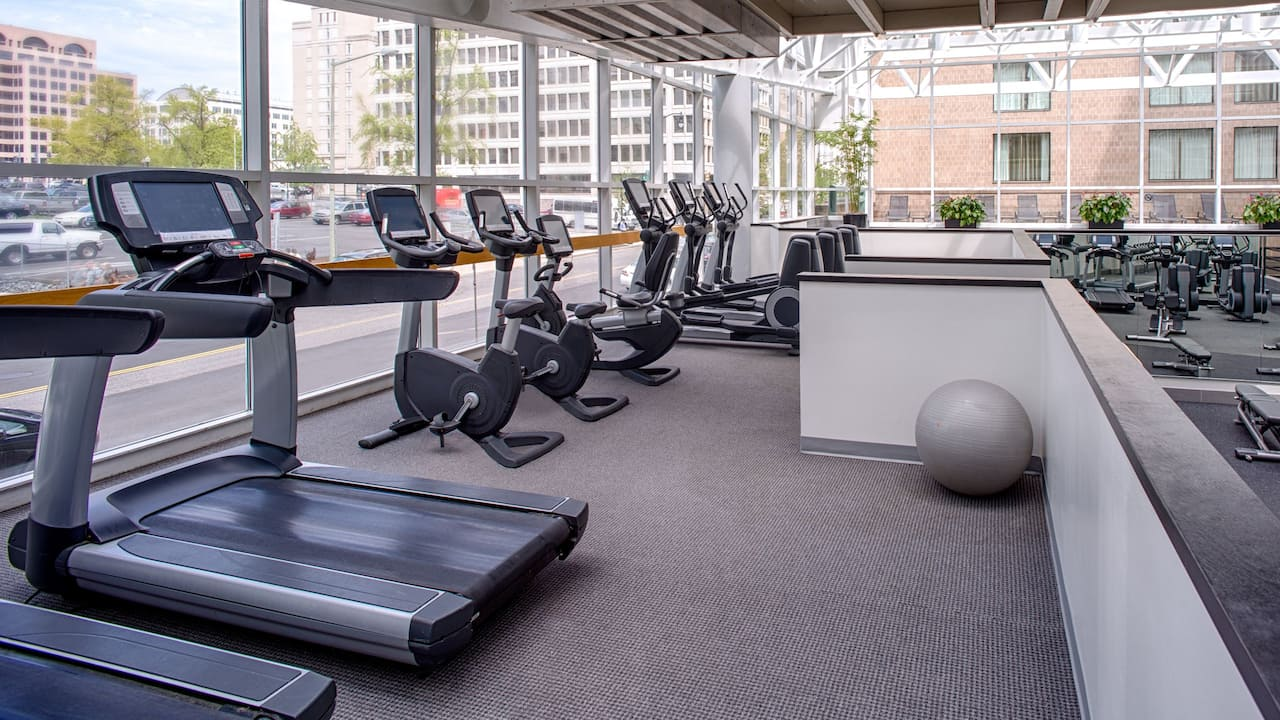 Fitness Center Gym Hyatt Regency Washington on Capitol Hill