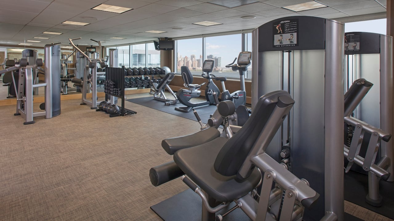 Fitness Center Hyatt Regency Jersey City on the Hudson