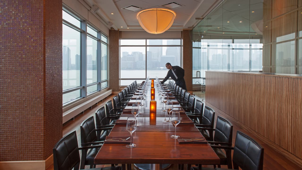 Private Dining Hyatt Regency Jersey City on the Hudson