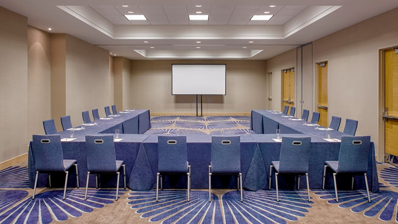 U-Shape Meeting Room Hyatt Regency Jersey City on the Hudson