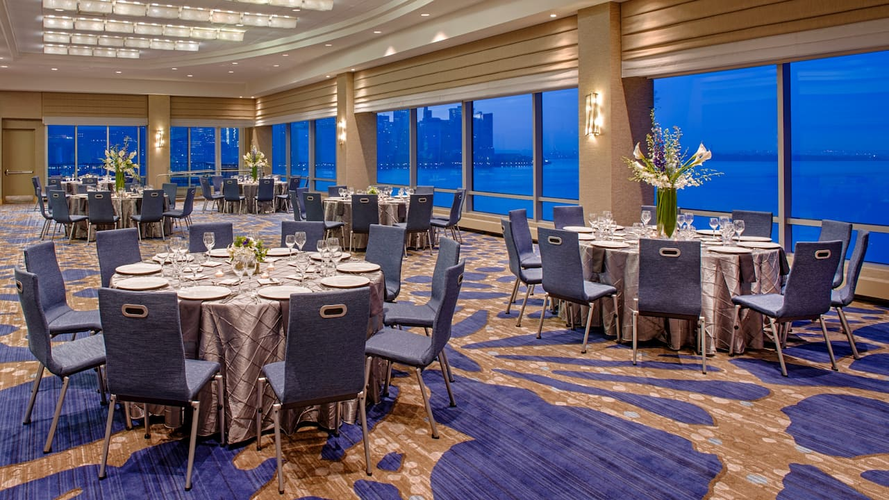 Manhattan Ballroom Hyatt Regency Jersey City on the Hudson