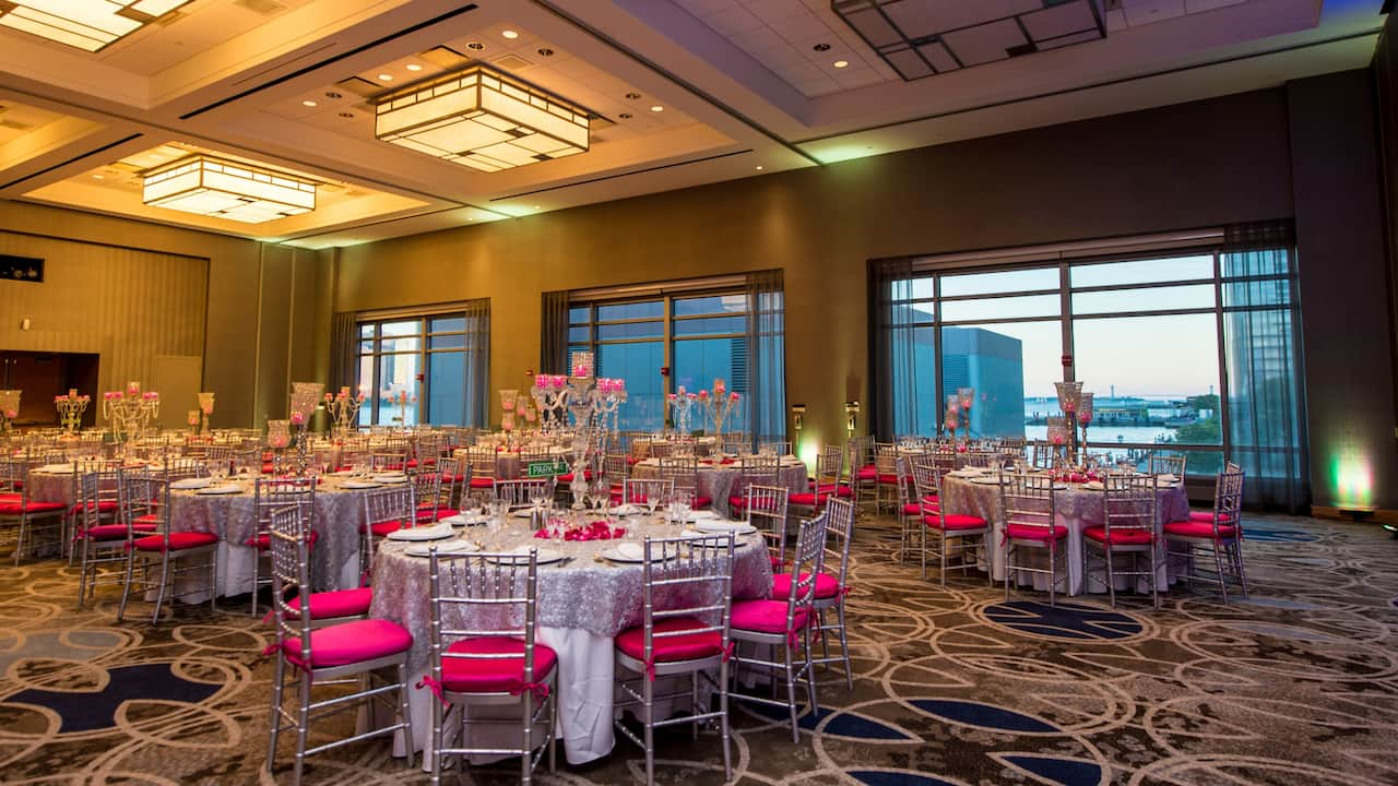 Wedding Venue Hyatt Regency Jersey City on the Hudson