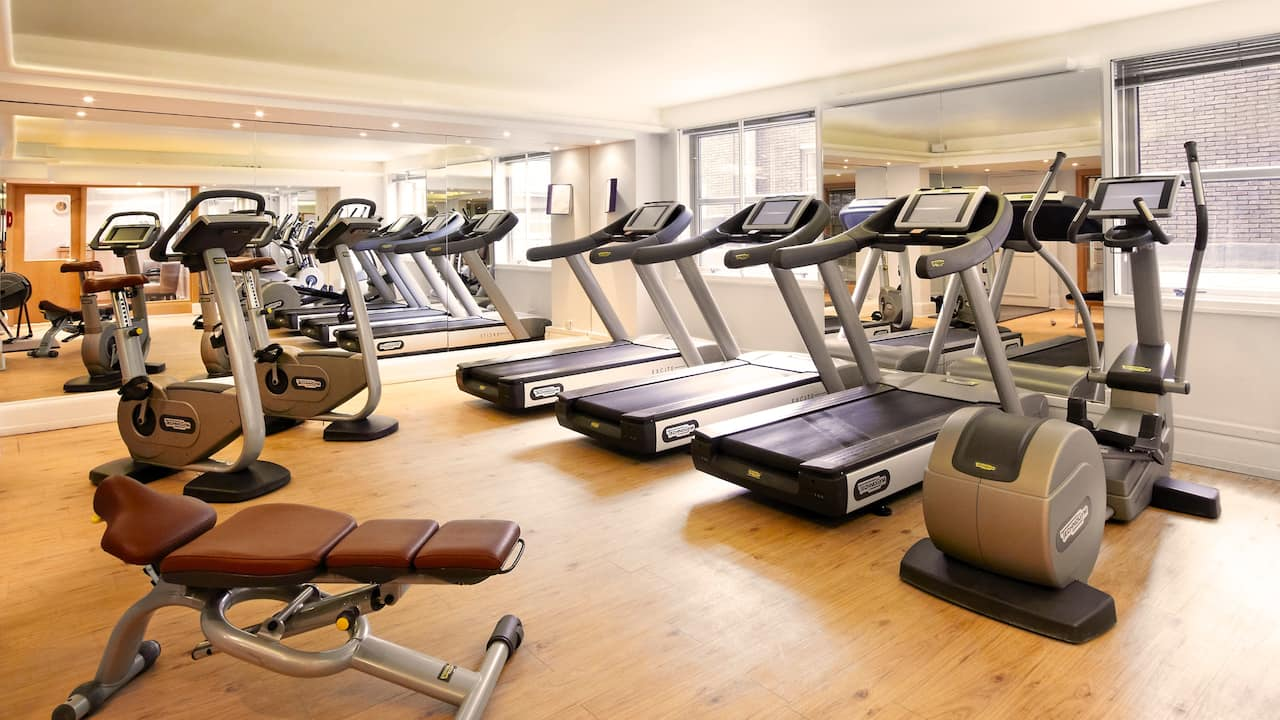 Gym at Hyatt Regency London - The Churchill