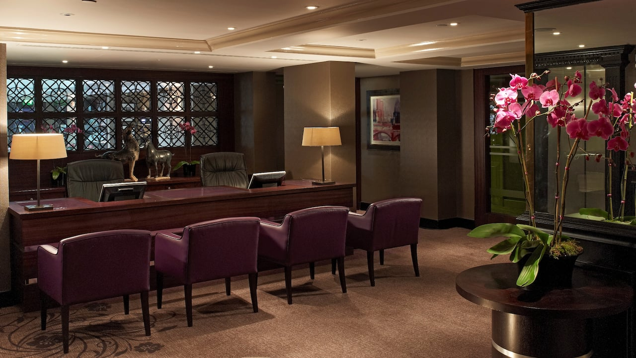 Regency Club Reception at Hyatt Regency London - The Churchill