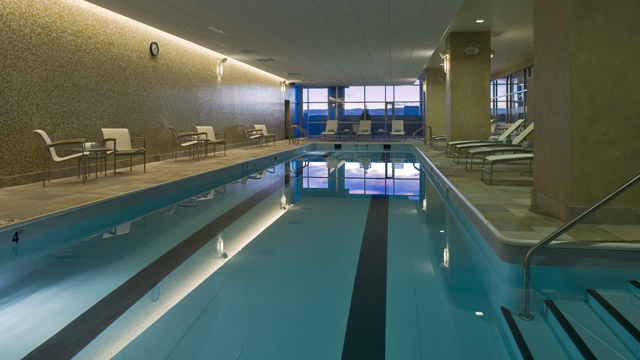 Pool at Hyatt Regency Denver at Colorado Convention Center