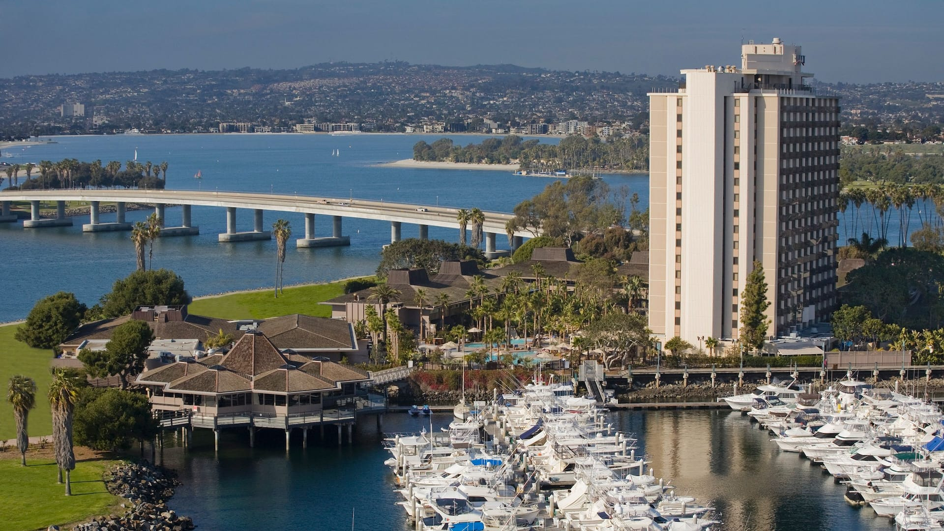 San Diego Mission Bay Hotel Near Downtown Hyatt Regency Mission
