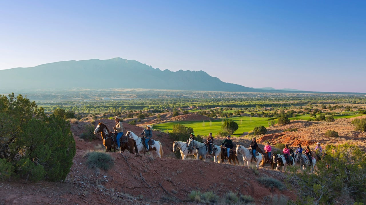 Trail Ride Hyatt Regency Tamaya Resort & Spa