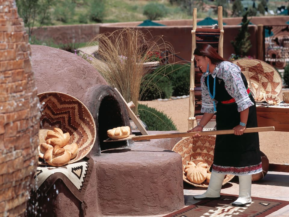 Hyatt Regency Tamaya Resort & Spa Bread Making