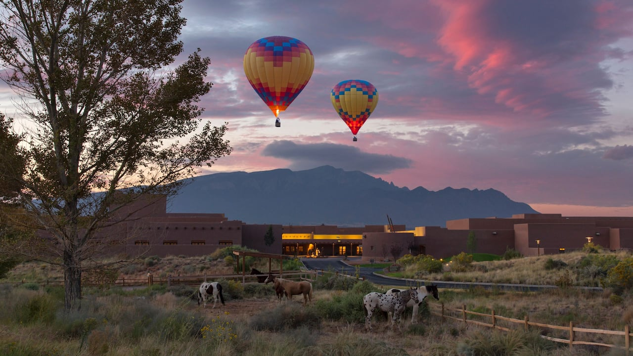 Hot Air Balloons Hyatt Regency Tamaya Resort & Spa
