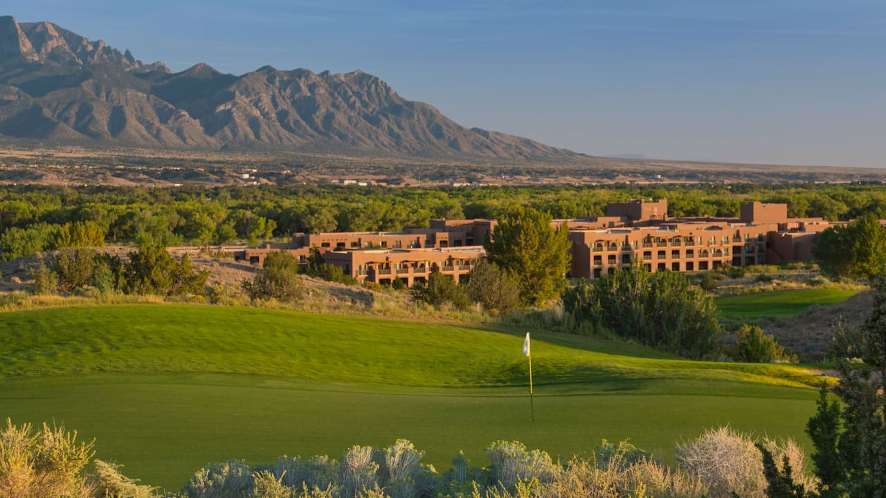 Golf Course Hyatt Regency Tamaya Resort & Spa