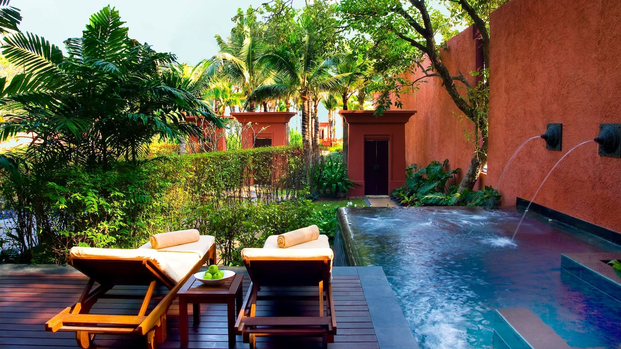 The Barai Suite Plunge Pool