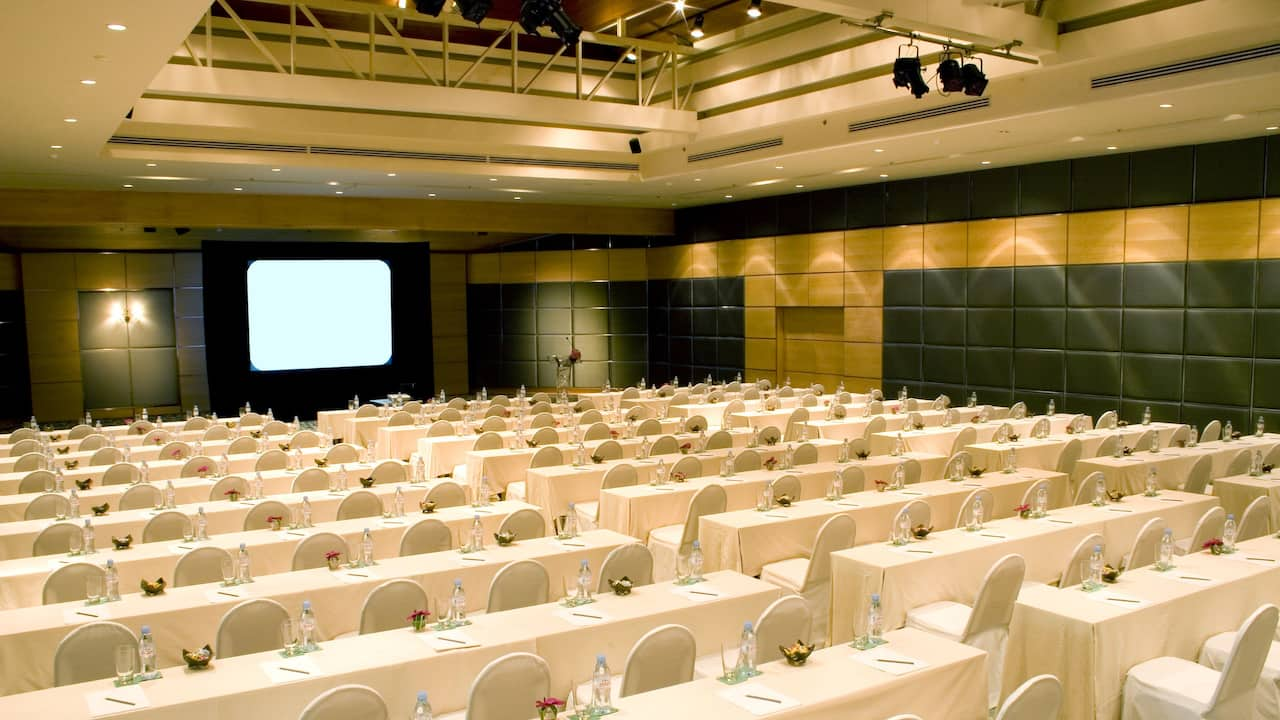 Grand Ballroom Meeting Setup