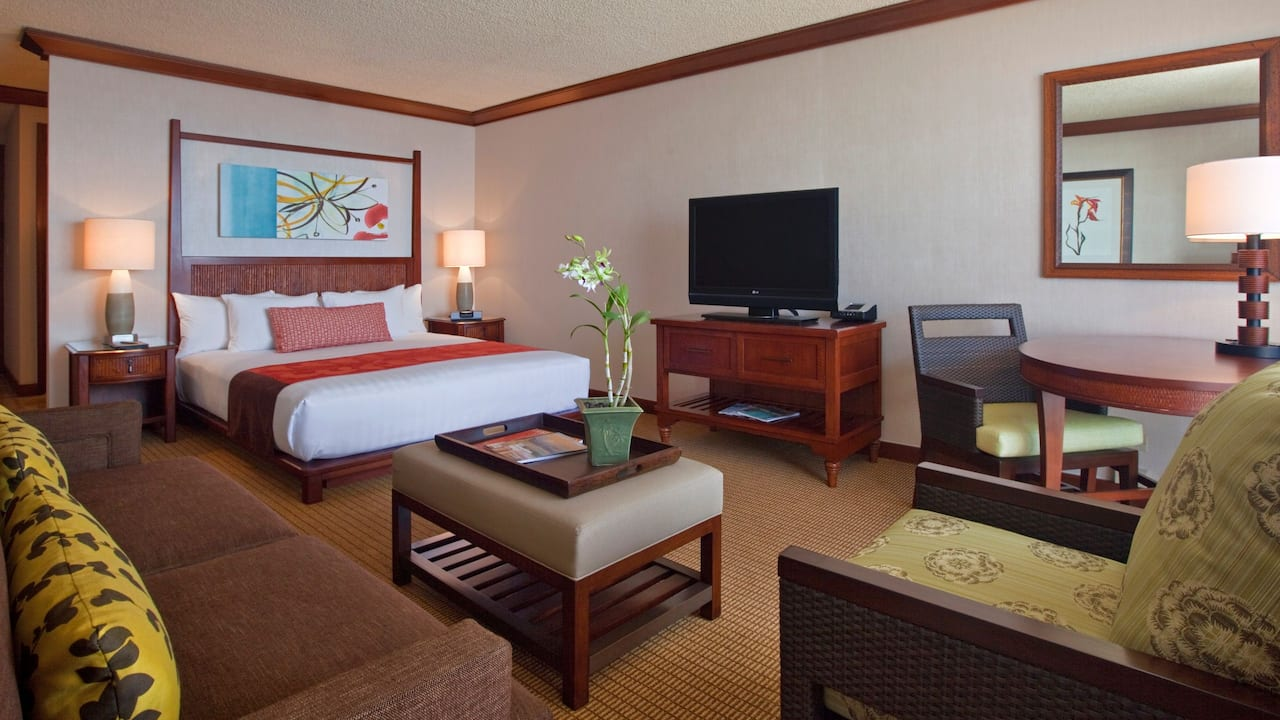ADA Room with King Bed and Shower Hyatt Regency Maui Resort and Spa