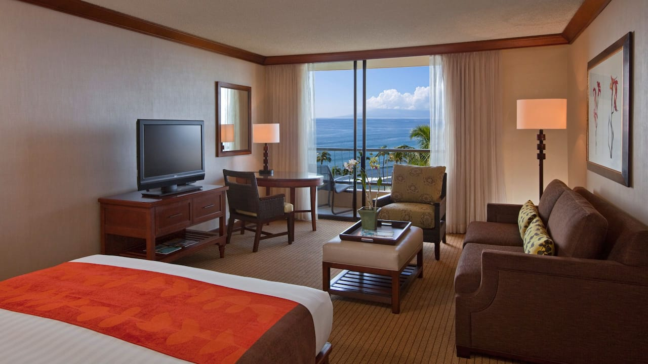 Room with King Bed Oceanfront Hyatt Regency Maui Resort and Spa