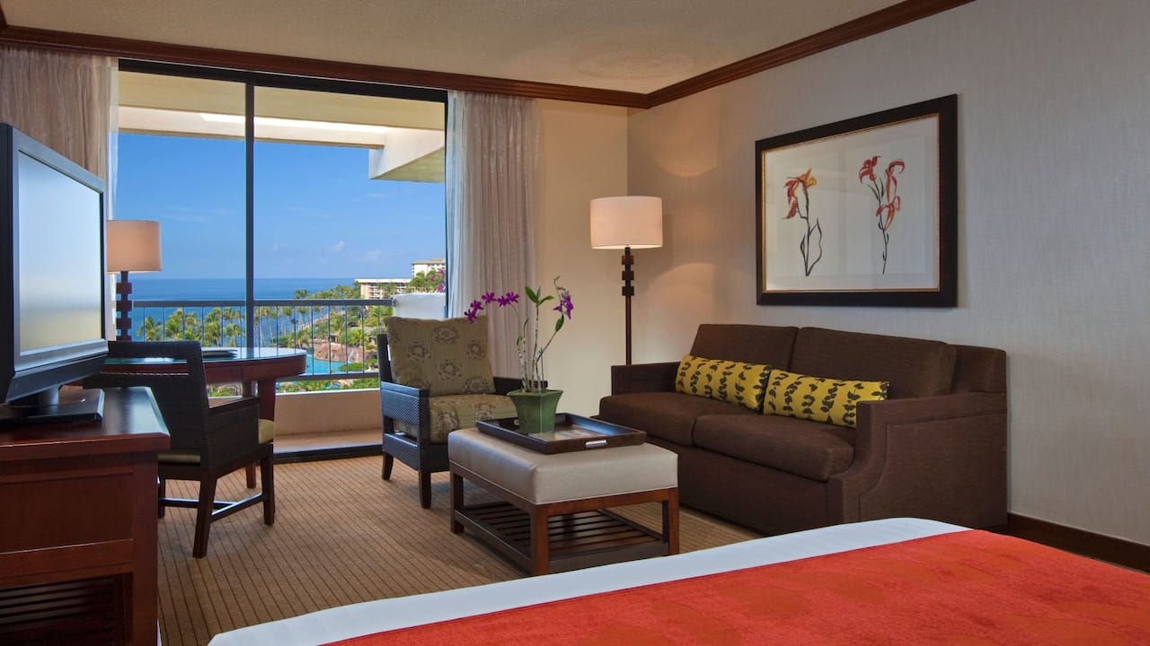 Ocean View Room with King Bed Hyatt Regency Maui Resort and Spa