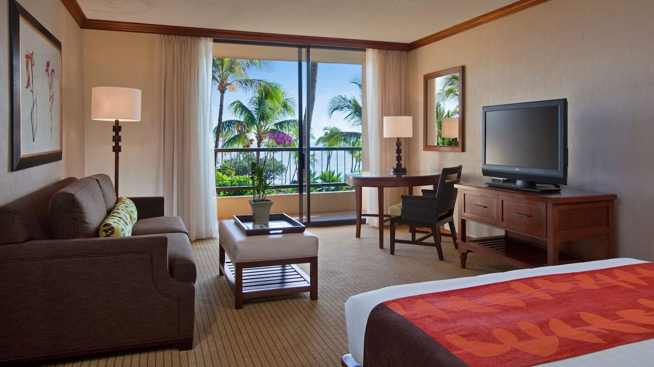 Room with King Bed Partial Ocean View Hyatt Regency Maui Resort and Spa