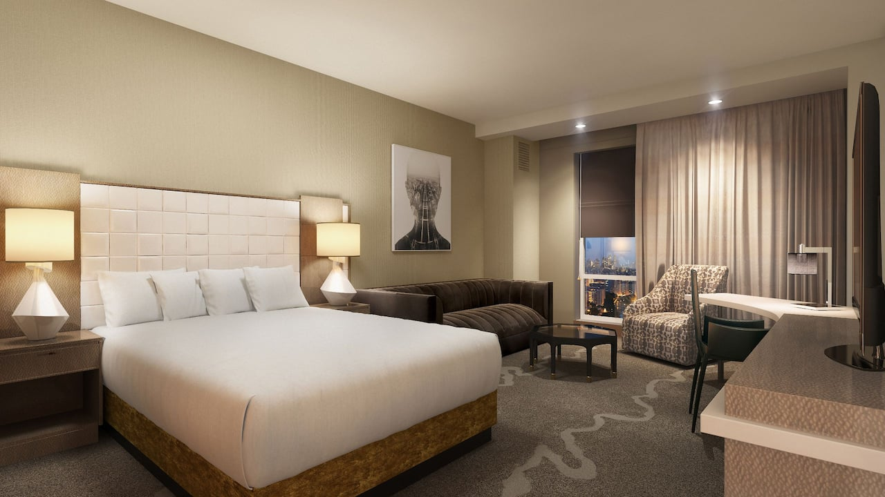 Deluxe Room with King Bed Hyatt Regency Tysons Corner Center