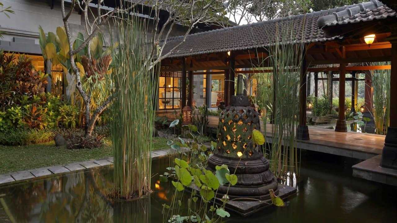 Lobby Hotel Hyatt Regency Yogyakarta