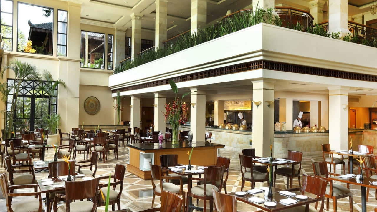 The Kemangi Bistro Restaurant at Hyatt Regency Hotel Yogyakarta