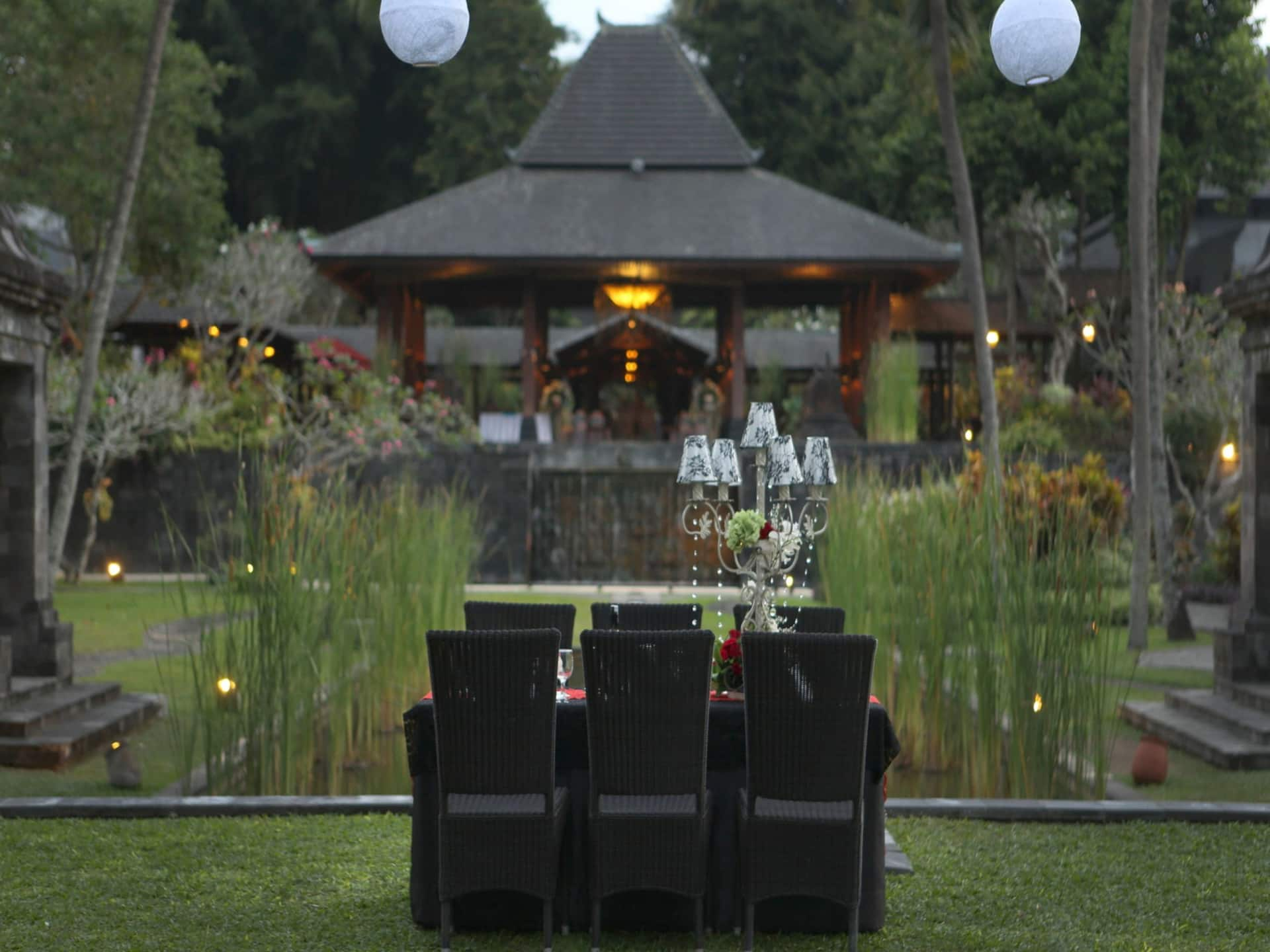 Dinner Outdoor Venues at Hyatt Regency Yogyakarta