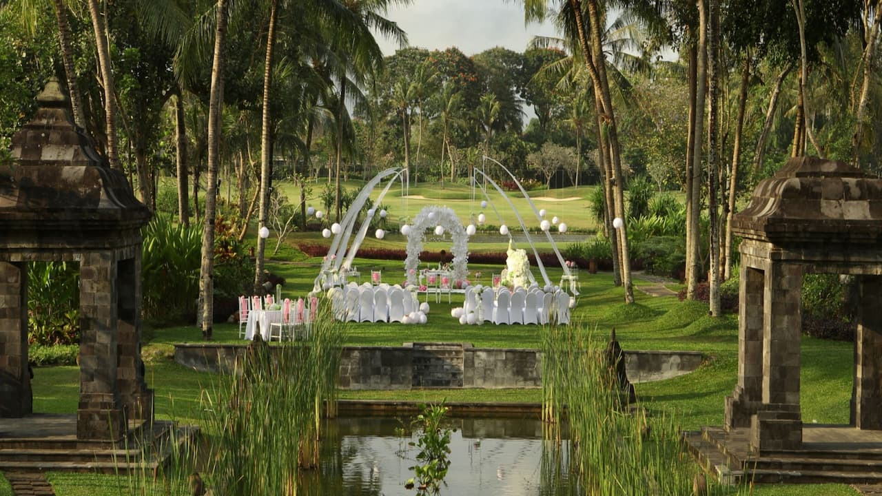 Weddings at Hyatt Regency Yogyakarta, Indonesia