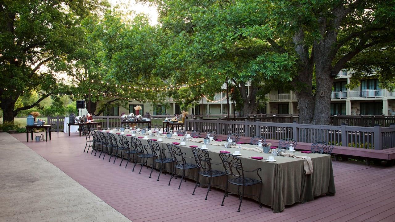 Morning Banquet Hyatt Regency Lost Pines Resort & Spa
