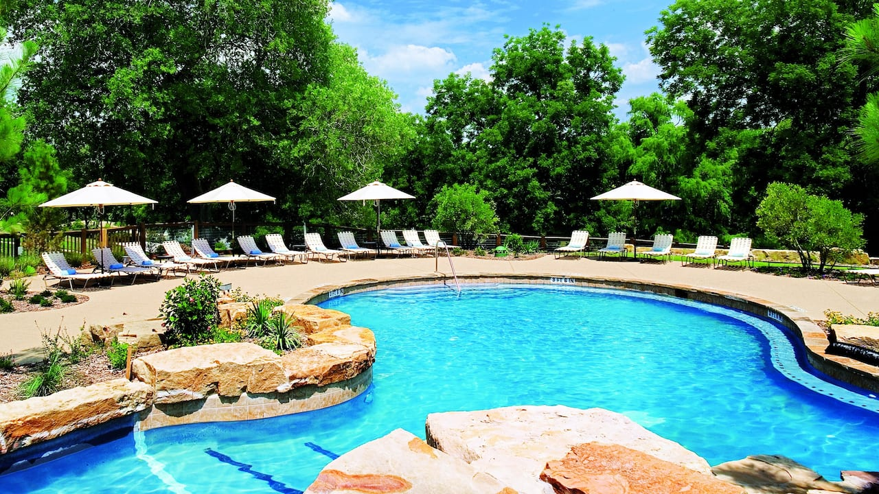 Adult Pool Hyatt Regency Lost Pines Resort & Spa