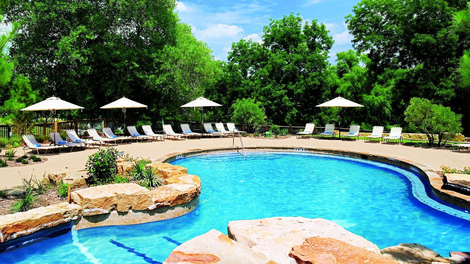 Pool Hyatt Regency Lost Pines Resort & Spa