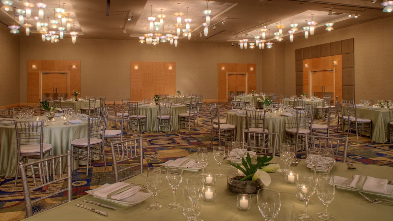 Wedding Reception Venue Hyatt Regency Pittsburgh International Airport