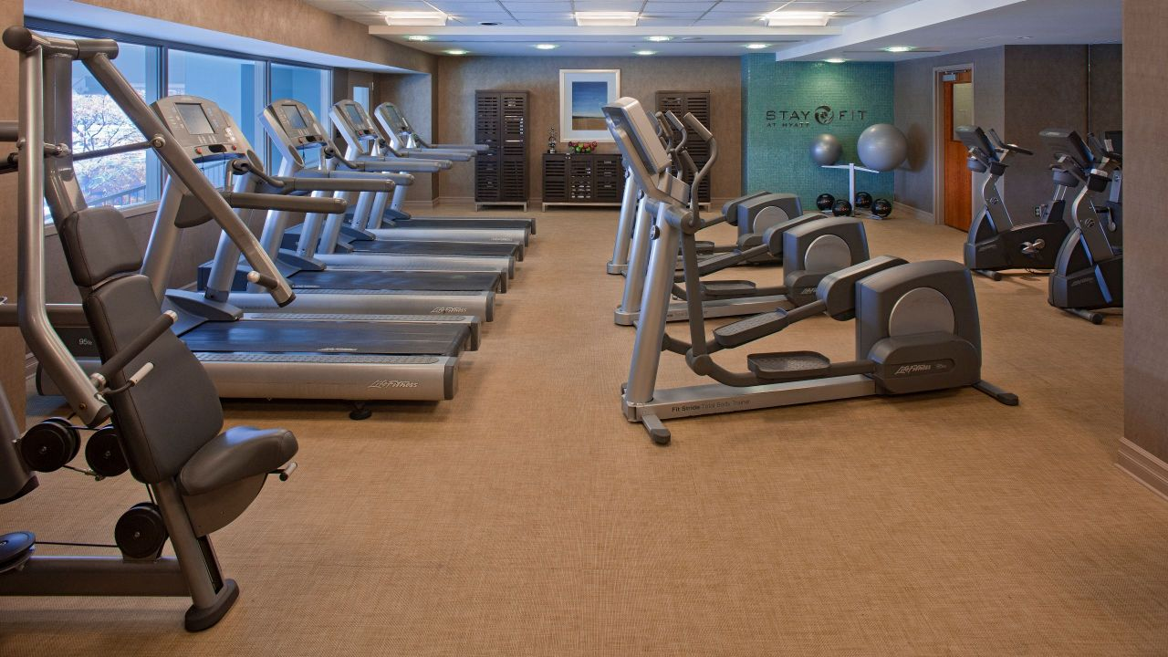 Hyatt Regency Pittsburgh International Airport Fitness Center
