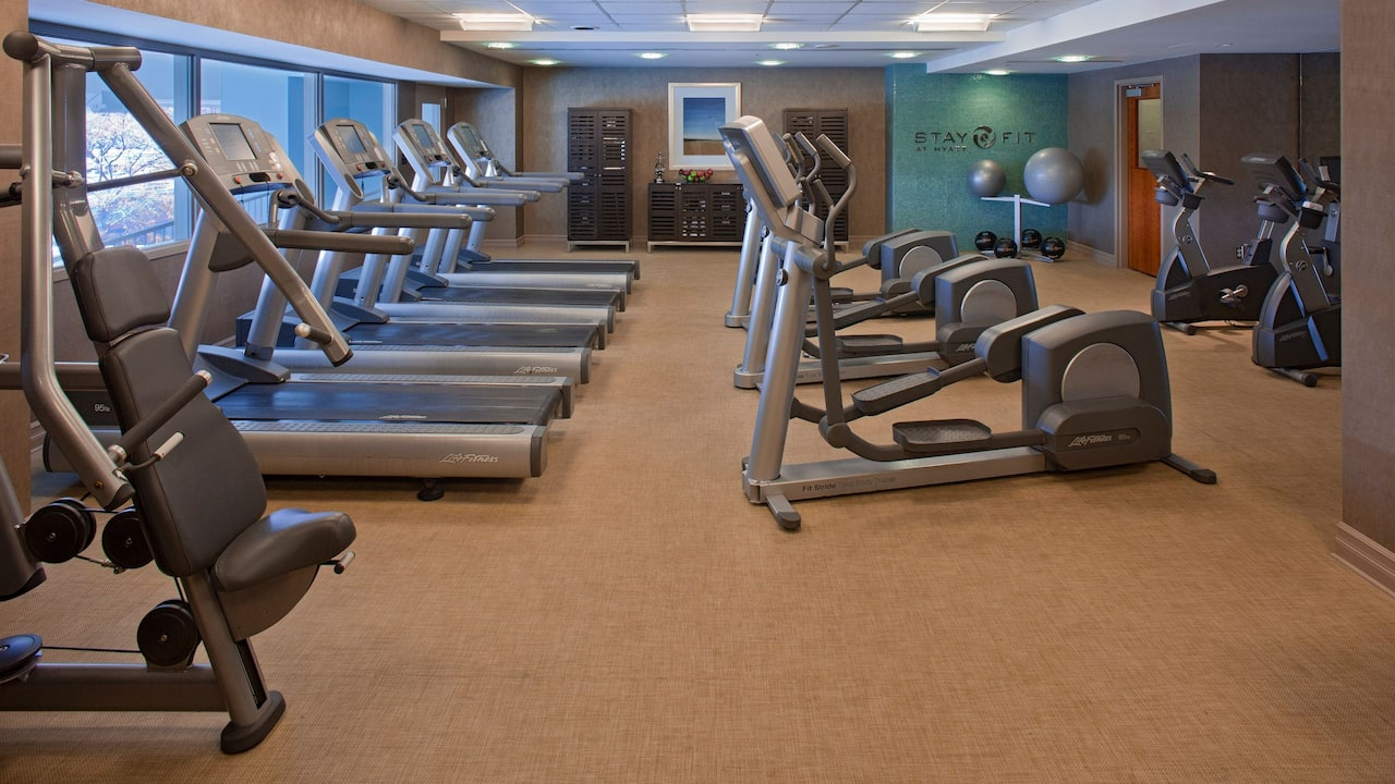 24/7 Fitness Center Hyatt Regency Pittsburgh International Airport
