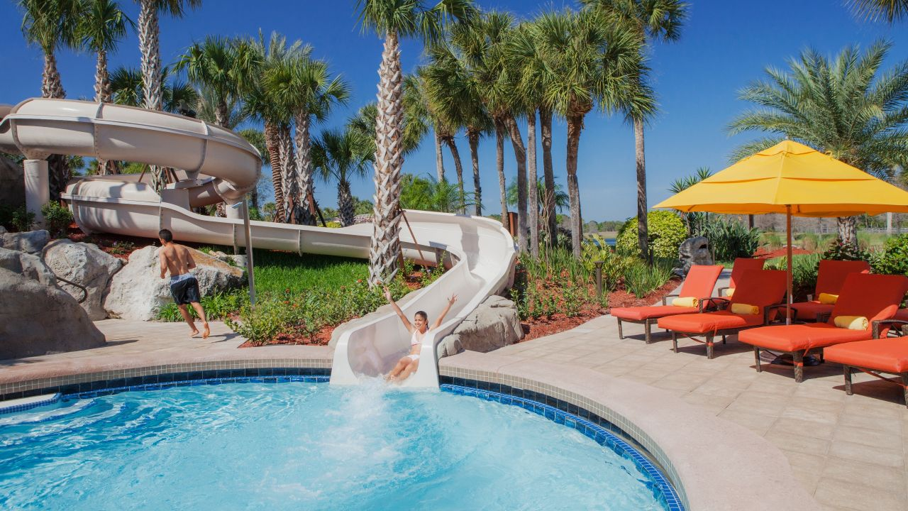 Hyatt Regency Grand Cypress Water slide tower