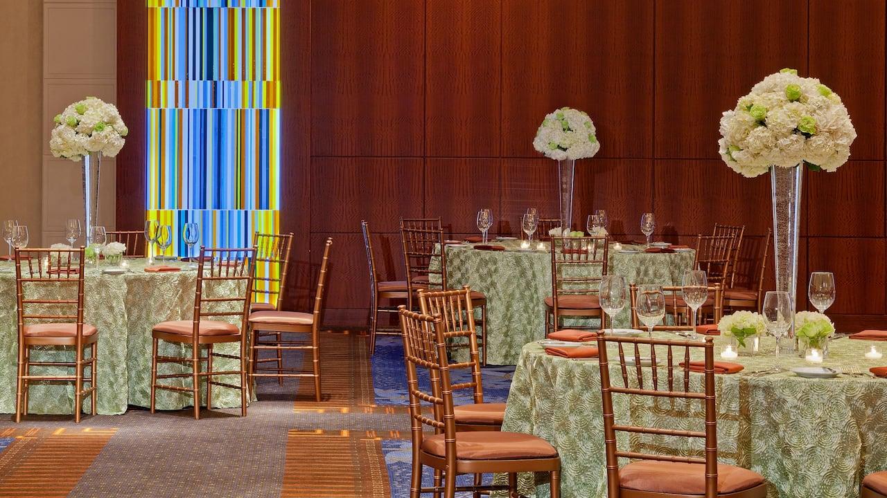 Reception Set-Up Hyatt Regency Atlanta
