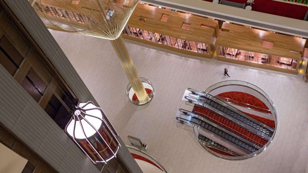Lobby Overhead Hyatt Regency Atlanta